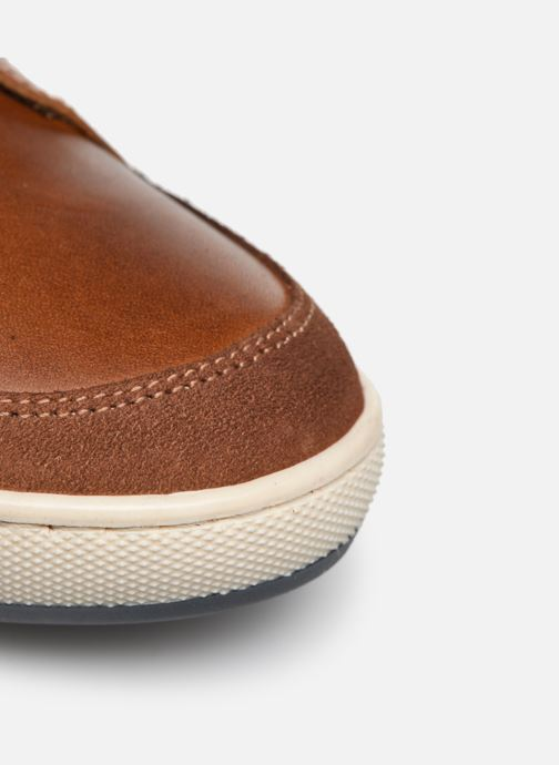 Sneakers Mr SARENZA WAMBA Marrone immagine sinistra