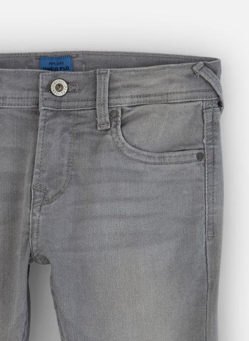 Vêtements Pepe jeans Finly Gris vue portées chaussures