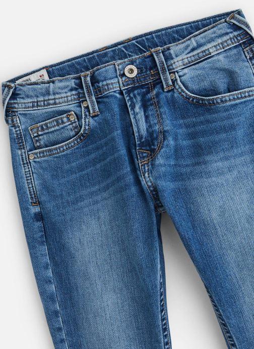 Vêtements Pepe jeans Finly Bleu vue portées chaussures