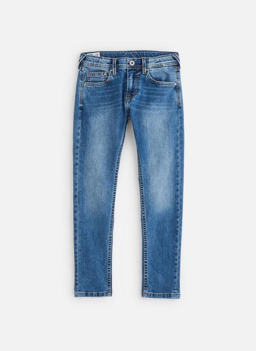 Vêtements Pepe jeans Finly Bleu vue détail/paire
