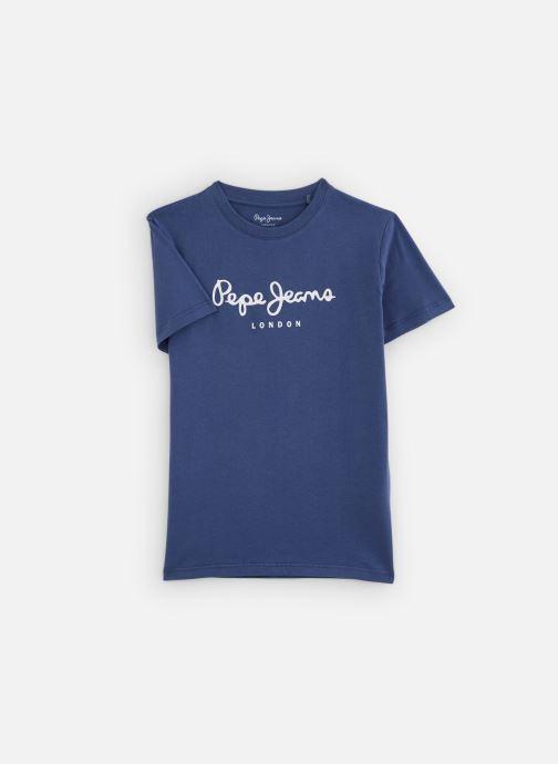 Vêtements Pepe jeans Art Bleu vue détail/paire