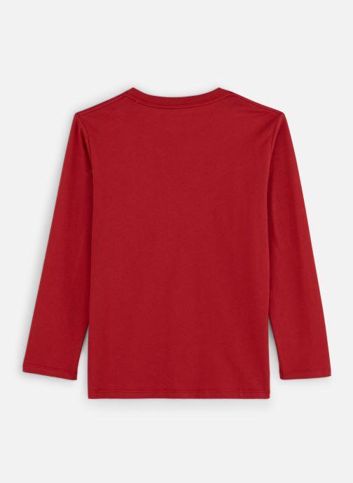 Vêtements Pepe jeans New Herman Rouge vue bas / vue portée sac
