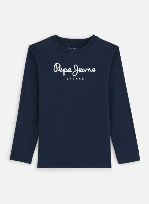 Vêtements Pepe jeans New Herman Bleu vue détail/paire