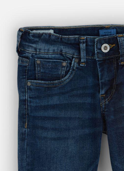 Vêtements Pepe jeans Pixlette Bleu vue portées chaussures