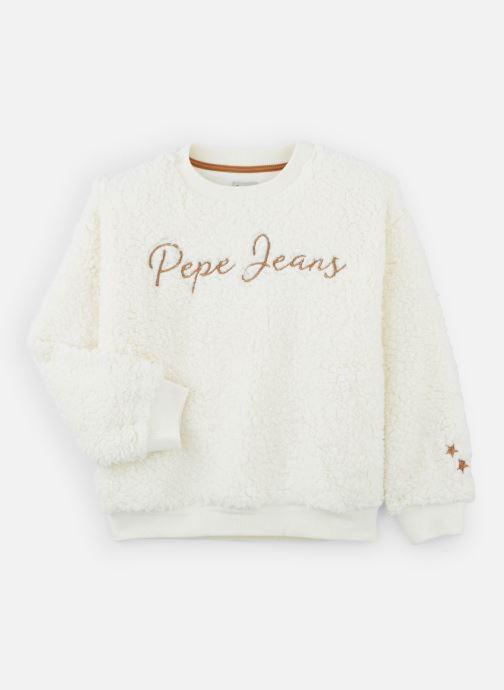 Vêtements Pepe jeans Nina Blanc vue détail/paire