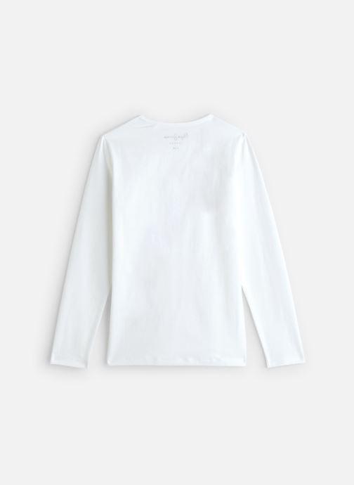 Vêtements Pepe jeans Hana Glitter Blanc vue bas / vue portée sac