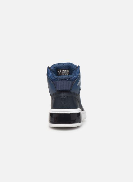 Sneakers Geox J Xled Boy J947QA Blauw rechts