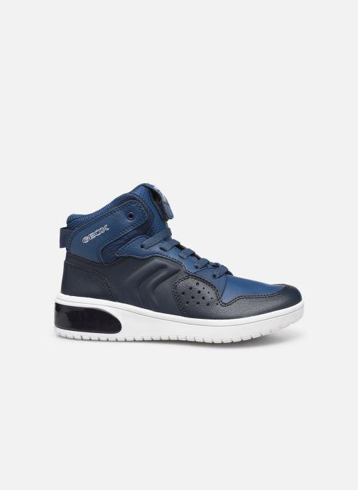 Sneakers Geox J Xled Boy J947QA Blauw achterkant
