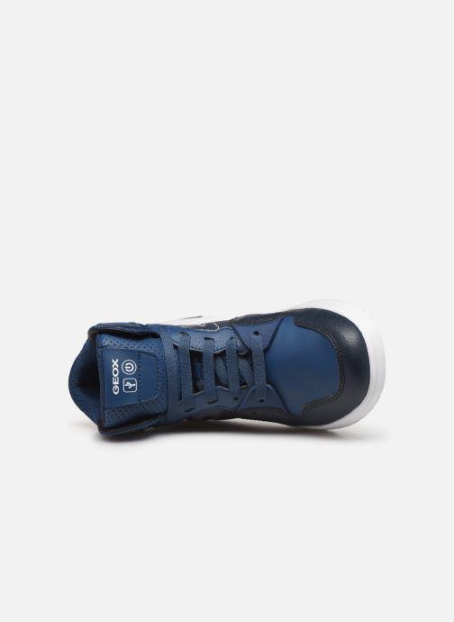 Sneakers Geox J Xled Boy J947QA Blauw links