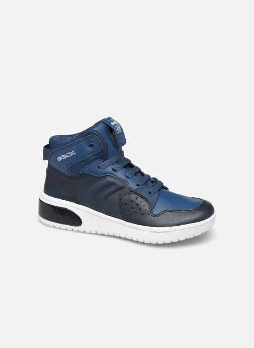 Sneakers Geox J Xled Boy J947QA Blauw detail