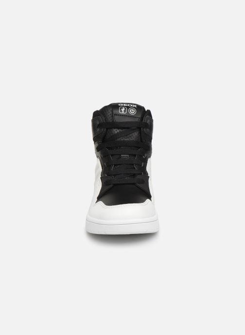 Sneakers Geox J Xled Boy J947QA Wit model