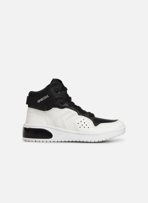 Sneakers Geox J Xled Boy J947QA Wit achterkant