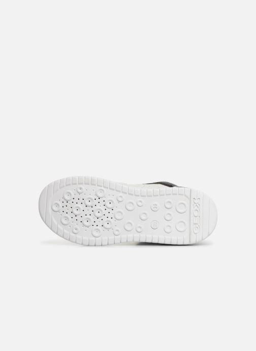 Sneakers Geox J Xled Boy J947QA Wit boven