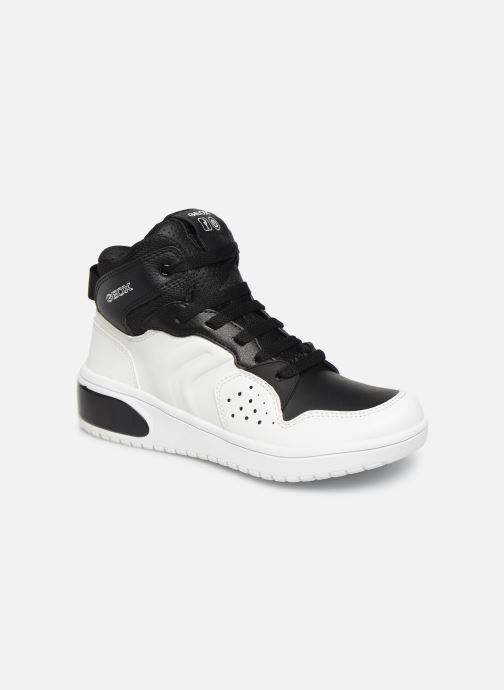 Sneakers Geox J Xled Boy J947QA Wit detail