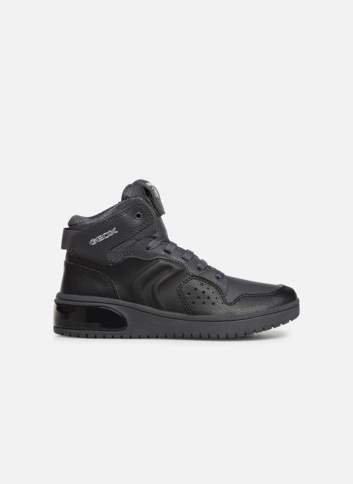 Sneakers Geox J Xled Boy J947QA Zwart achterkant