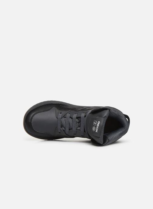 Sneakers Geox J Xled Boy J947QA Zwart links