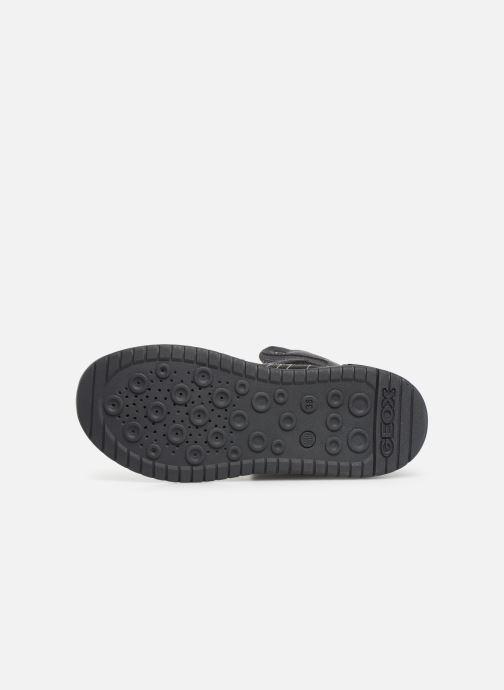 Sneakers Geox J Xled Boy J947QA Zwart boven