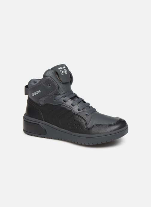 Sneakers Geox J Xled Boy J947QA Zwart detail