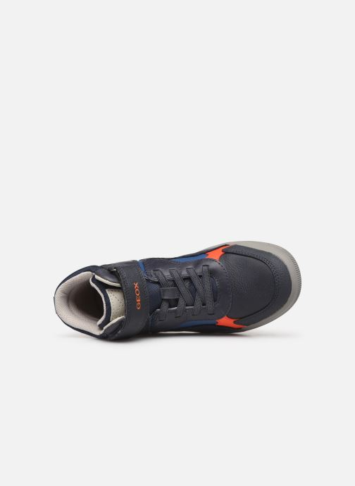 Sneakers Geox J Arzach Boy J944AA Blauw links