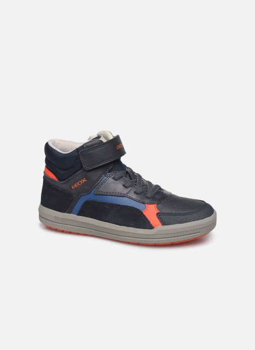 Trainers Geox J Arzach Boy J944AA Blue detailed view/ Pair view
