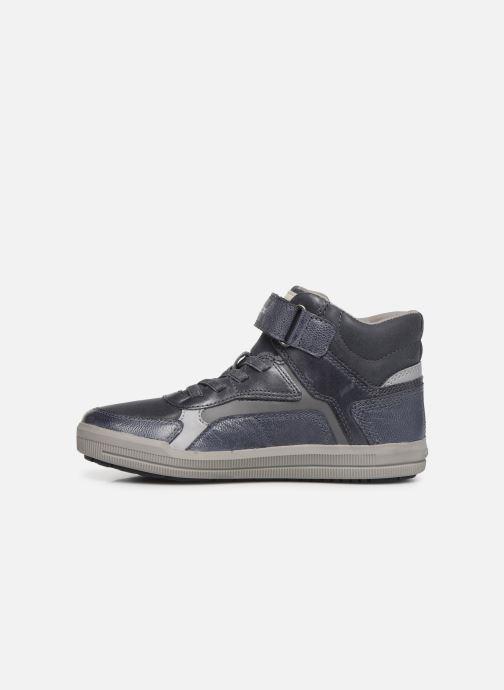 Sneakers Geox J Arzach Boy J944AA Azzurro immagine frontale