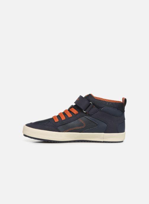 Sneaker Geox J Alonisso Boy J942CN blau ansicht von vorne