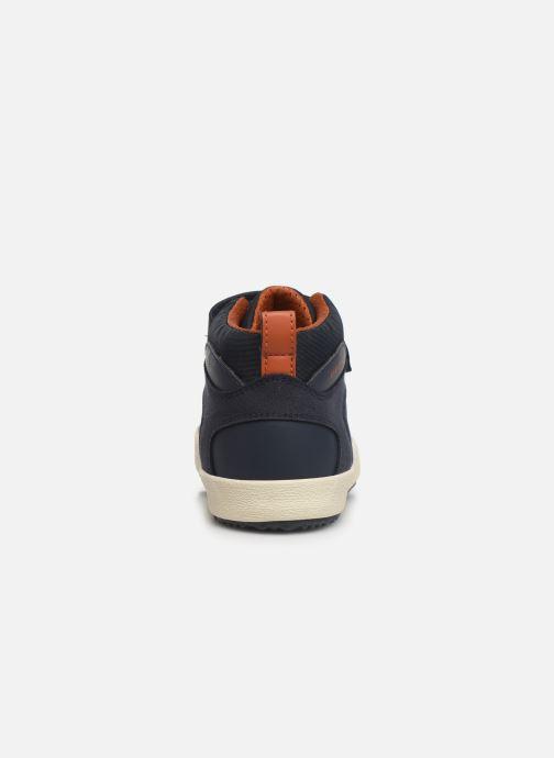 Sneaker Geox J Alonisso Boy J942CN blau ansicht von rechts