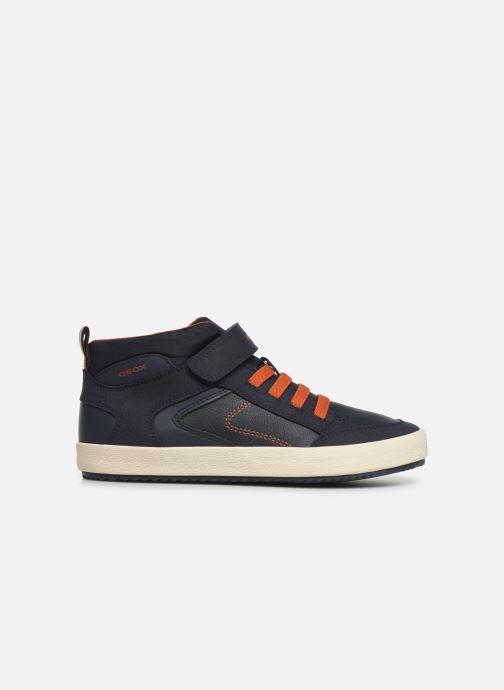 Sneaker Geox J Alonisso Boy J942CN blau ansicht von hinten