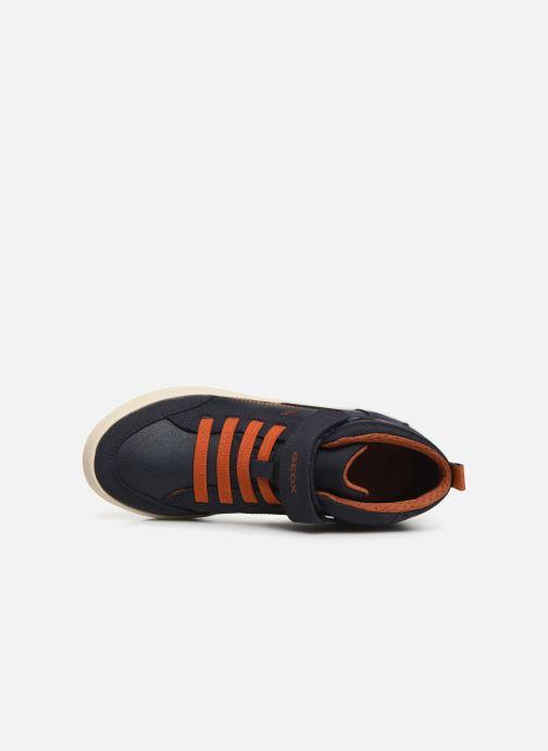 Sneaker Geox J Alonisso Boy J942CN blau ansicht von links