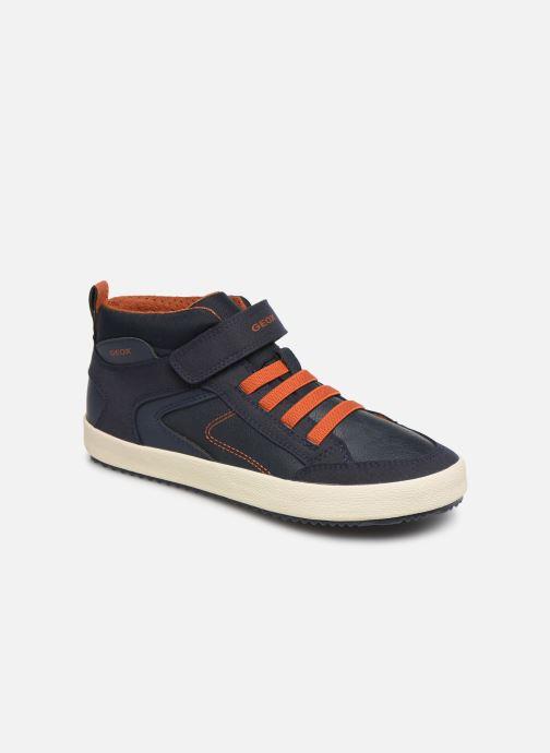 Sneakers Geox J Alonisso Boy J942CN Blauw detail