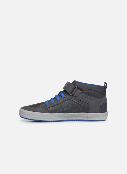 Sneakers Geox J Alonisso Boy J942CN Bruin voorkant