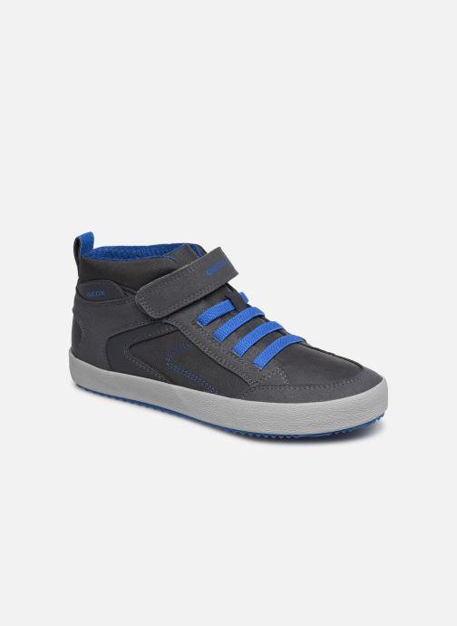 Baskets Geox J Alonisso Boy J942CN Marron vue détail/paire