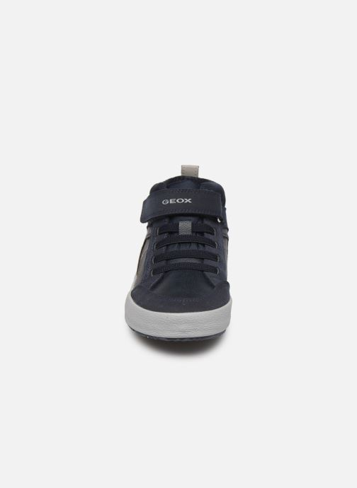 Baskets Geox J Alonisso Boy J942CN Bleu vue portées chaussures