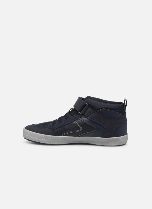 Sneakers Geox J Alonisso Boy J942CN Azzurro immagine frontale
