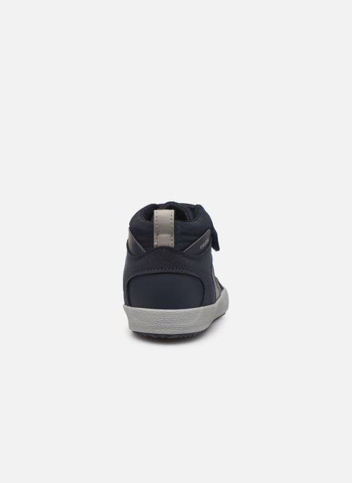 Sneakers Geox J Alonisso Boy J942CN Blå Se fra højre