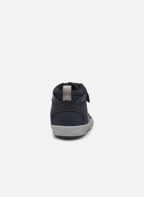 Sneakers Geox J Alonisso Boy J942CN Azzurro immagine destra