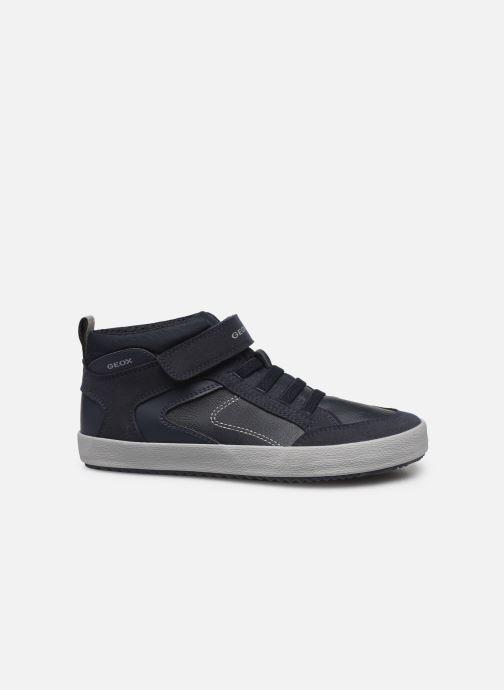 Sneakers Geox J Alonisso Boy J942CN Blå se bagfra
