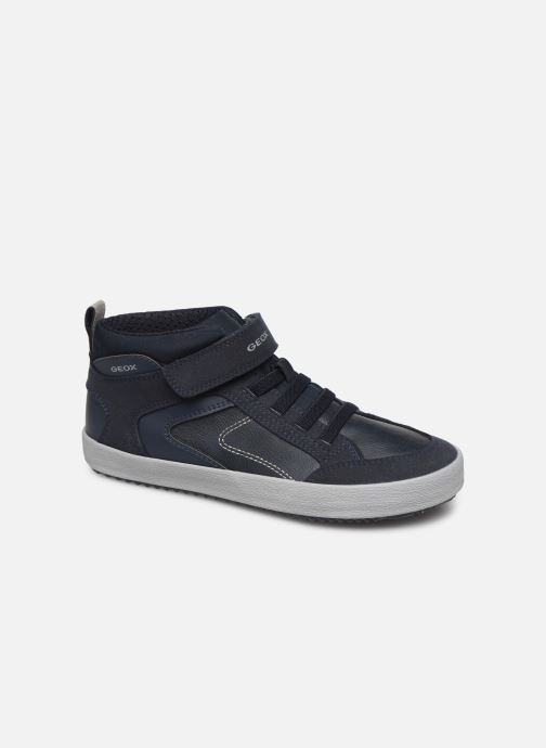 Trainers Geox J Alonisso Boy J942CN Blue detailed view/ Pair view