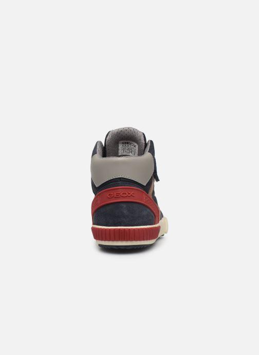 Sneakers Geox J Alonisso Boy J942CH Blauw rechts