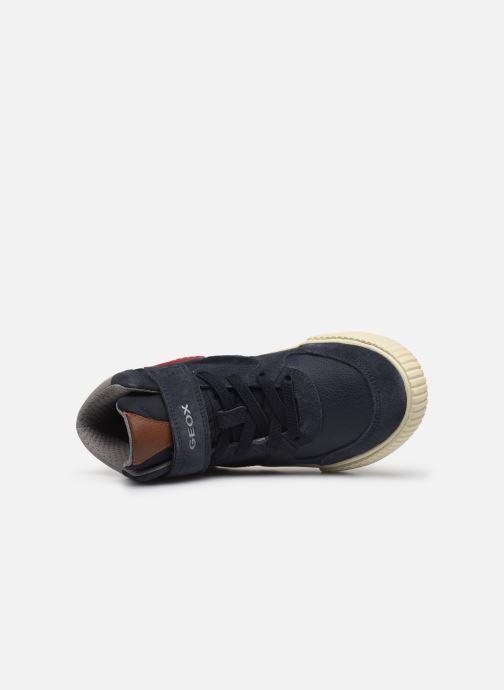 Sneakers Geox J Alonisso Boy J942CH Blauw links