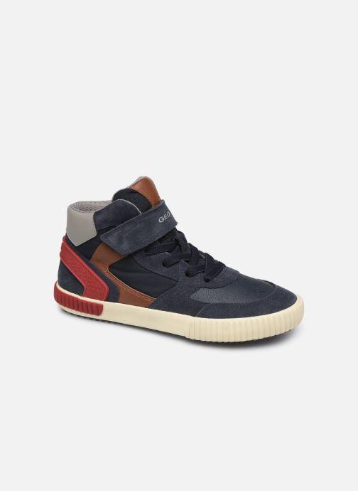 Sneakers Geox J Alonisso Boy J942CH Blauw detail
