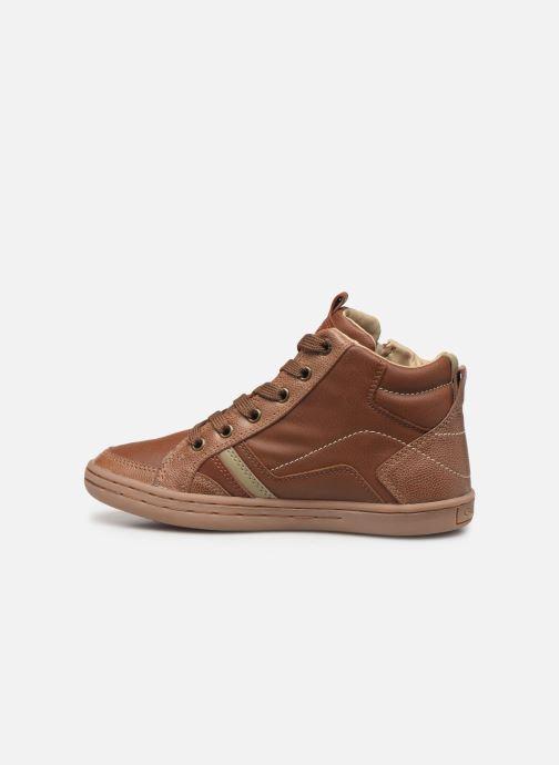 Sneakers Geox JR Garcia Boy J94B6A Bruin voorkant