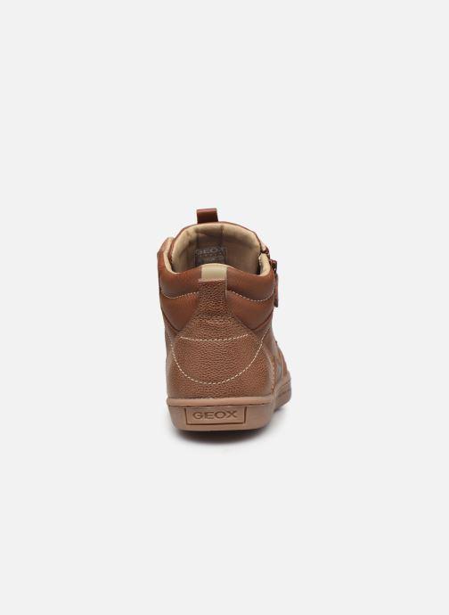 Sneakers Geox JR Garcia Boy J94B6A Bruin rechts