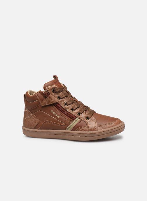 Sneakers Geox JR Garcia Boy J94B6A Bruin achterkant