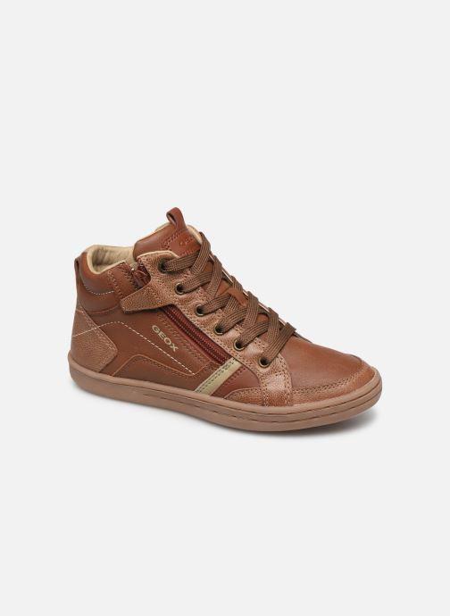 Sneakers Geox JR Garcia Boy J94B6A Bruin detail