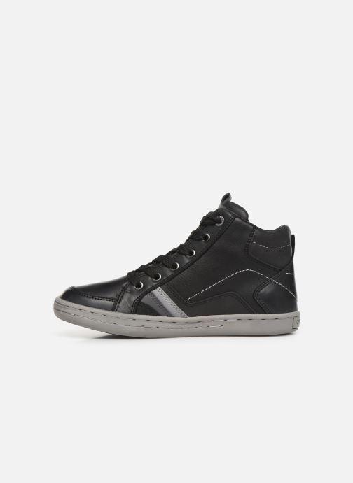 Sneakers Geox JR Garcia Boy J94B6A Nero immagine frontale