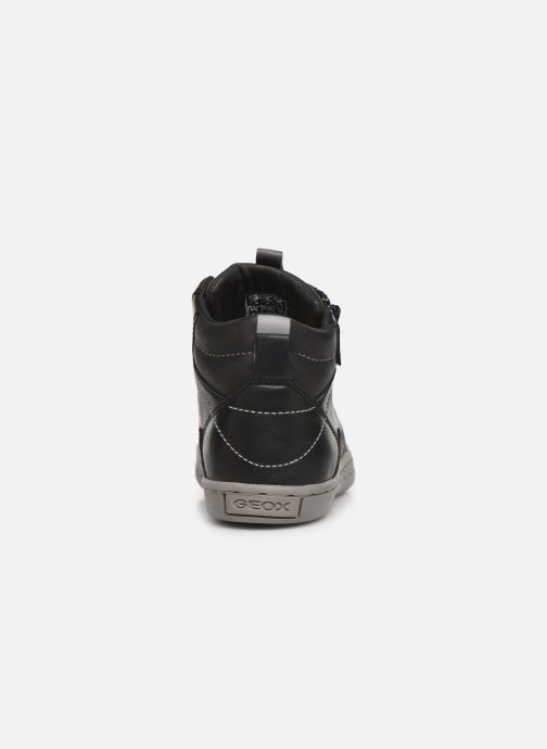 Baskets Geox JR Garcia Boy J94B6A Noir vue droite