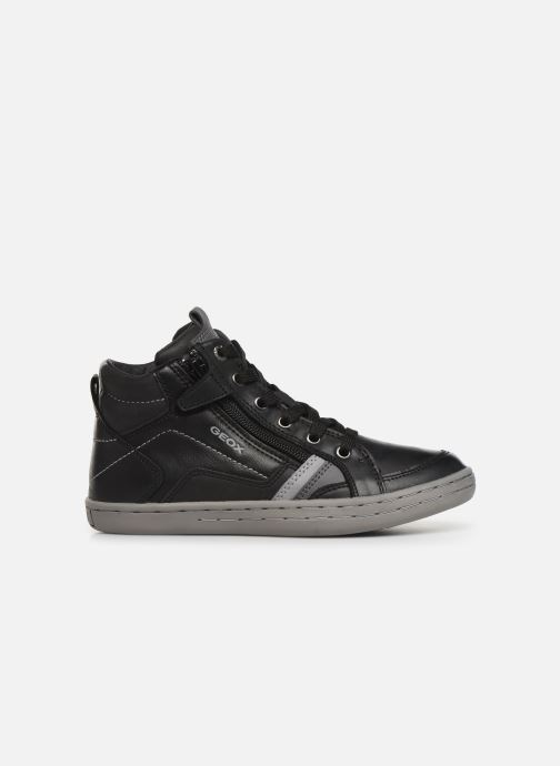 Sneakers Geox JR Garcia Boy J94B6A Zwart achterkant