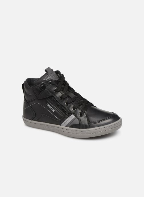 Sneakers Geox JR Garcia Boy J94B6A Zwart detail