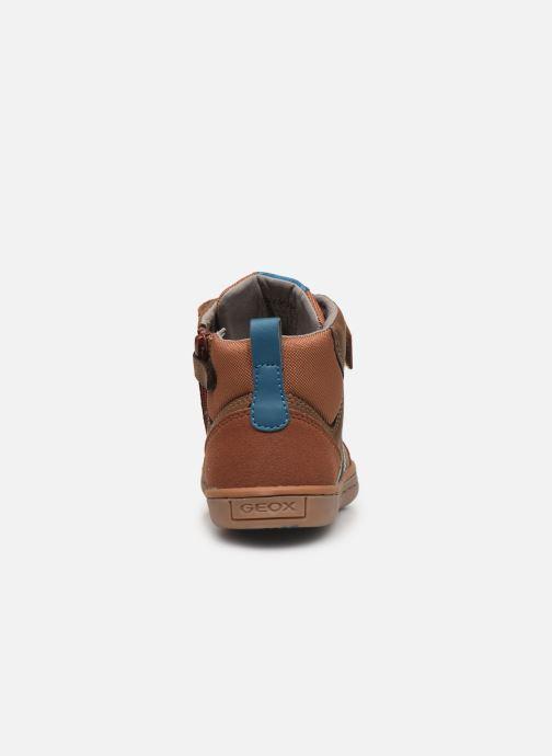 Sneakers Geox Jr Garcia Boy J94B6B Bruin rechts